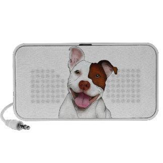 Happy Smiling Pitbull Speaker System