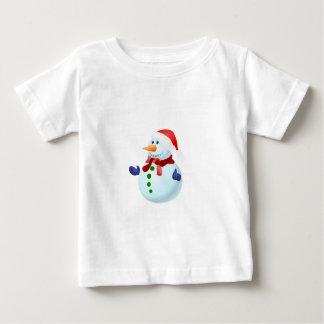 Happy Snowman Baby T-Shirt