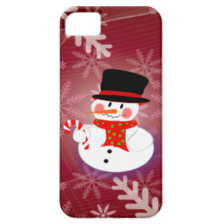 Happy Snowman Barely There iPhone 5 Case