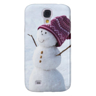 Happy Snowman Galaxy S4 Cover