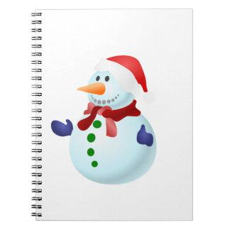 Happy Snowman Notebook