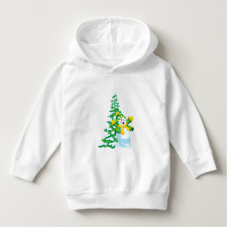 Happy Snowman Toddler Pullover Hoodi