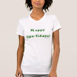 Happy Spa-lidays Tshirts