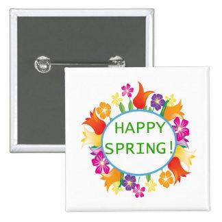Happy Spring Pins