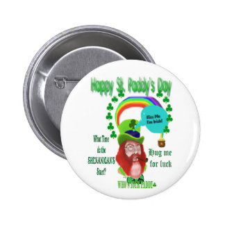 Happy St Paddy s Day Pinback Button