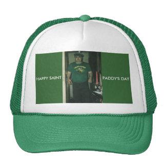 HAPPY ST PADDYS DAY, HAPPY SAINT, PADDY'S DAY CAP
