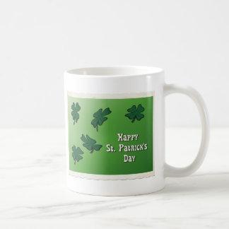 Happy St. Patrick's Day Basic White Mug