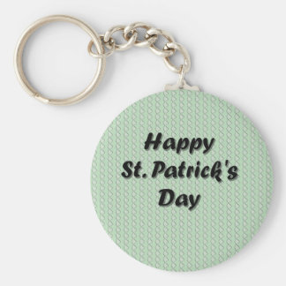 Happy St. Patrick's Day Key Chain