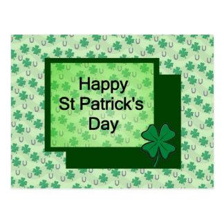 Happy St. Patrick's Day Postcard
