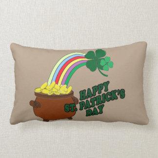 Happy St Patrick s Day 1 Lumbar Cushion