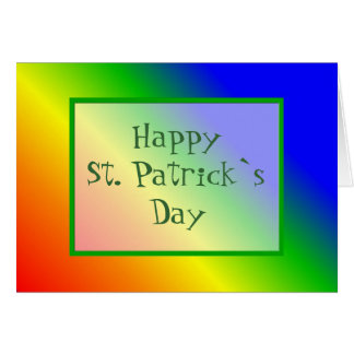 Happy St. Patrick`s Day Greeting Card