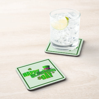 Happy St Patrick s Day Drink Coasters