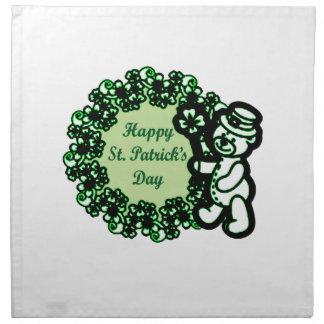 Happy St Patrick s Day Napkin