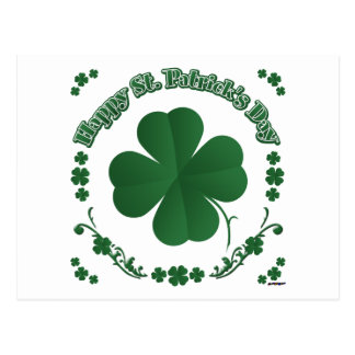 Happy St Patrick s Day Post Card