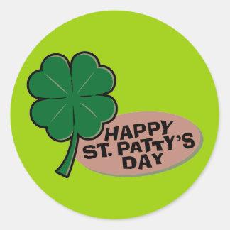 Happy St Patrick s Day Sticker