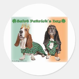 Happy St Patrick s Day Stickers