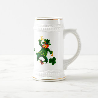 Happy St Patrick's Beer Stein