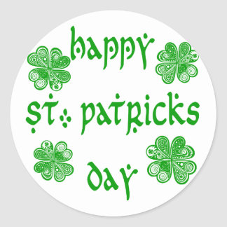 Happy St. Patricks Day /1 Classic Round Sticker