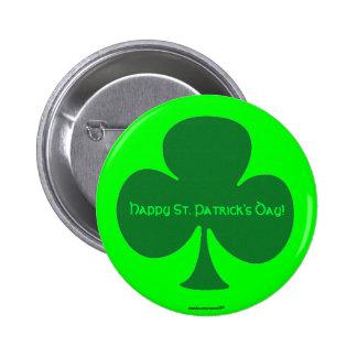 Happy St. Patrick's Day 6 Cm Round Badge