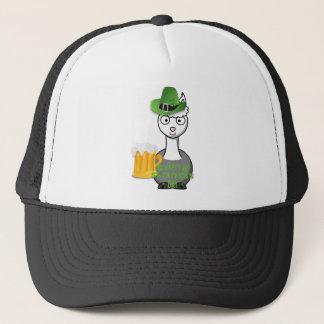 happy st patricks day alpaca trucker hat