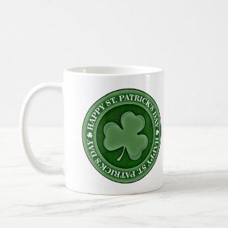 Happy St. Patricks Day Basic White Mug
