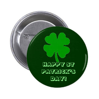 HAPPY ST PATRICK'S DAY! BUTTON