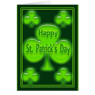 Happy St. Patrick's Day Card