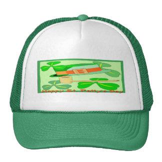 Happy St Patrick's Day Collage Cap