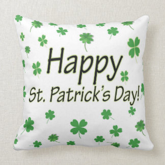 Happy St Patricks Day Cushion