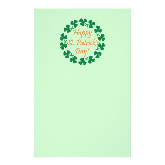 Happy St. Patrick's Day Customised Stationery