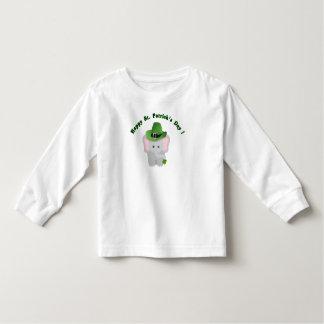 Happy St Patrick's Day Cute Baby Elephant T shirt
