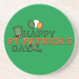 Happy St Patricks Day Embellished Coaster