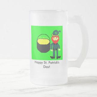 Happy St. Patricks Day Frosted Mug