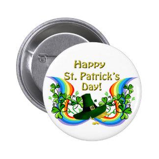 Happy St. Patrick's Day Gift 6 Cm Round Badge