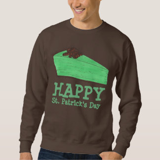 Happy St. Patrick's Day Grasshopper Pie Sweatshirt
