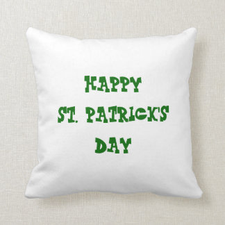 Happy St. Patrick's Day/ Happy Easter Reversible Cushion