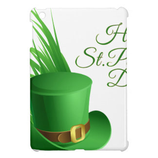 Happy St Patrick's day, holiday Irish hat saint Cover For The iPad Mini