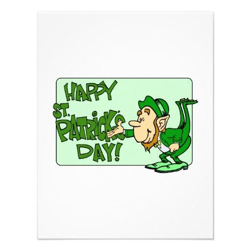 Happy St. Patrick's Day Invitation