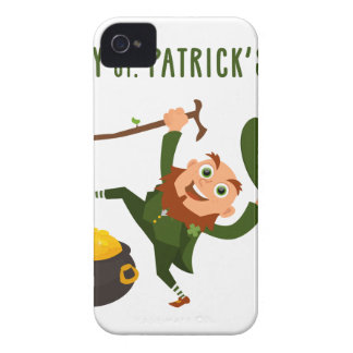 Happy St. Patrick's Day iPhone 4 Case-Mate Case