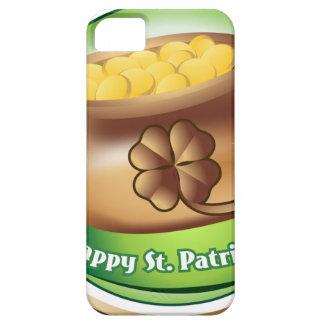 Happy St Patrick's day, Irish Saint Hat Holiday iPhone 5 Cover