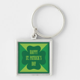 Happy St. Patrick's Day Keychains
