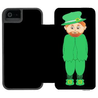"""HAPPY ST. PATRICK'S DAY"" LEPRECHAUN INCIPIO WATSON™ iPhone 5 WALLET CASE"