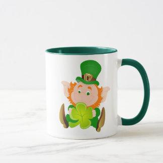 Happy St. Patrick's Day leprechaun Mug