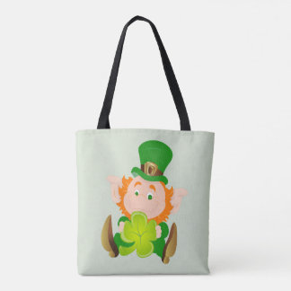 Happy St. Patrick's Day leprechaun Tote Bag
