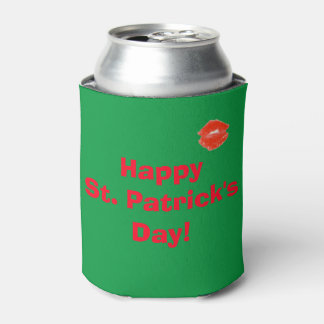 Happy St. Patrick's Day Lips 4Kevin Can Cooler