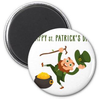 Happy St. Patrick's Day Magnet