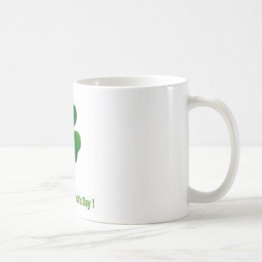 Happy st patricks day coffee mugs