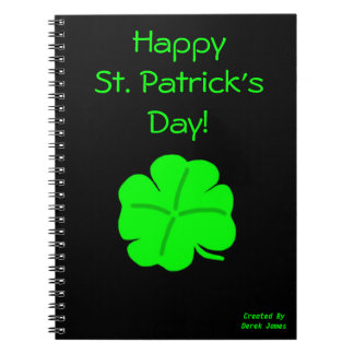 Happy St. Patrick's Day Photo Notebook