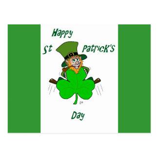 Happy St Patrick's Day Postcard