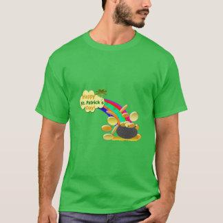Happy St. Patrick's Day Rainbow T-Shirt